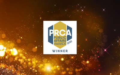 BECG Group UK Consultancy of the Year at the PRCA Public Affairs Awards