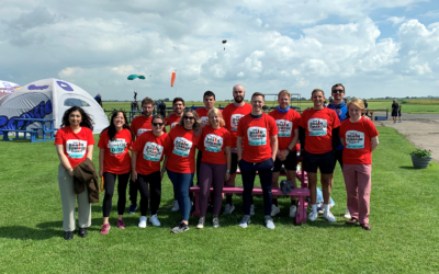 Highflyers from BECG and Cavendish Advocacy raise thousands of pounds in support of The Brain Tumour Charity